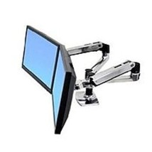 Ergotron LX 45-245-026 Dual Side-by-Side Arm for 24-inch LCD Monitor - Aluminum - $304.27