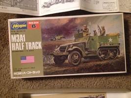1:72 Scale Hasegawa M3A1 Half Track Plastic Model Kit - $21.78