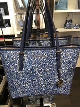 Michael Kors Women's Jet Set Travel MEDIUM Leather Carry All Tote Handba... - $140.00