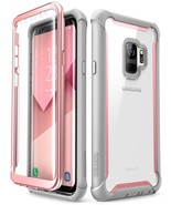 Samsung Galaxy S9 case, i-Blason Ares with Built-in Screen Protector Pink - $15.39