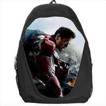 backpack school bag iron man - $39.79