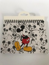 Disney Mickey Mouse Retro Standing Face Body Autograph Book - $9.31