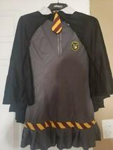 LARGE Wizard Wanda Adult Women's Costume Pleated Hem & Cape Fancy Dress - £3.80 GBP