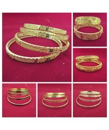 Indian Traditional Bollywood Bangles  Ethnic Bridal Gold Plated Fashion ... - $9.41