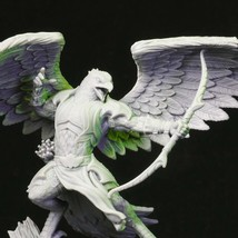 Base Included - Bird Archer - Bust - 3D - Printed - Resin Miniature - Unpainted  - $14.99
