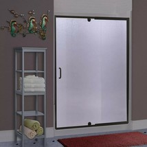 "Miseno MSDR4869-ORB Suave 69"" High x 42-48"" Wide Hinged Framed Shower Door - $427.50"
