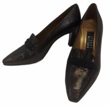 Stuart Weitzman Women's Pumps Shoes Brown with Gold Flecks Size 6.5 B - $23.75