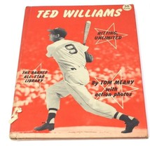 1951 TED WILLIAMS A.S. BARNES ALL STAR BASEBALL BOOK RED SOX - $43.20