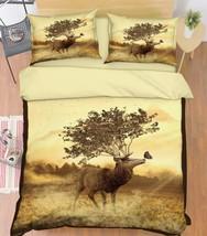 3D Animals 161 Bed Pillowcases Quilt Duvet Cover Set Single Queen King Size AU - $64.32+