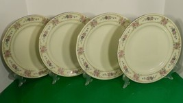 Johann Haviland PRIMROSE Dinner Plate (s) LOT OF 4 Pink Blue Flowers - $39.55
