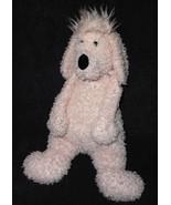"Jellycat Bunglie Fuzzy Poodle Puppy Dog Plush Stuffed Animal Light Pink 16"" - $22.73"