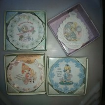 Four Precious Moments Mini Plates - $21.04