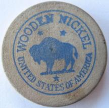 "Wooden Nickel From: ""Lusco Brick & Stone"" - (sku#4986) - $7.50"
