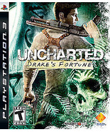 Uncharted: Drake's Fortune (Sony PlayStation 3, 2007) - $5.23