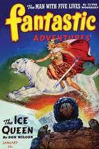 The Ice Queen by Robert Gibson Jones - Art Print - $19.99+
