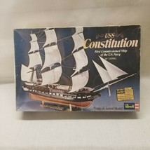"""Revell USS Constitution First Commissioned Ship of the US Navy Model 18"""" 1972 - $24.74"""