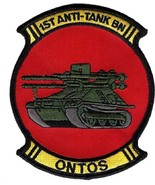 USMC 1st Anti-Tank Battalion ONTOS Patch - $1,000.00