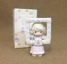 Precious Moments Figurine You're As Pretty As A Picture Girl Mirror(C-00... - $9.45