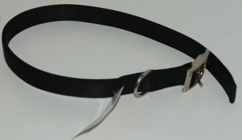 Valhoma 741 24 BK Dog Collar Black Double Layer Nylon 24 inches