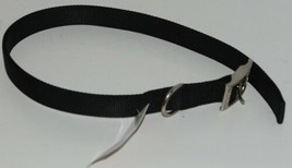 Valhoma 741 24 BK Dog Collar Black Double Layer Nylon 24 inches image 1