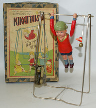 Vintage Pre-War Japan KIKAITAISO Clockwork Wind-up Celluloid Acrobat Boy... - £306.20 GBP