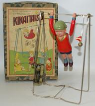 Vintage Pre-War Japan KIKAITAISO Clockwork Wind-up Celluloid Acrobat Boy... - £306.20 GBP