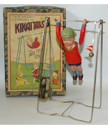 Vintage Pre-War Japan KIKAITAISO Clockwork Wind-up Celluloid Acrobat Boy... - £298.26 GBP