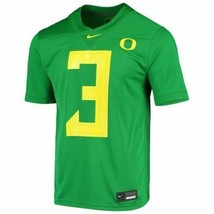 NWT nike Oregon Ducks Game Football Jersey #3 mens XXL apple Green ar9446 - $49.49