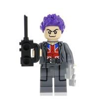 1 Pcs Super Hero Captain Britain With Equipment Fit Lego Block Minifigur... - $6.99