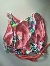 Tommy Bahama Floral Reversible Hi Neck Top Swim Top Size XL image 2