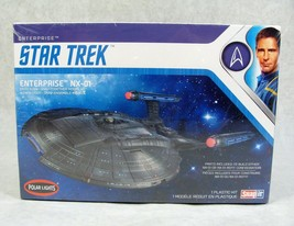 Polar Lights Star Trek Enterprise NX-01 Space Ship Model Kit New! Sealed - $34.64