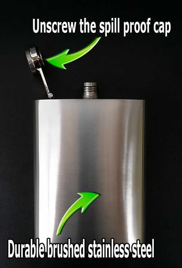 Legendary Actresses Tattoo Flask 8oz Stainless Steel Drinking Clearance item