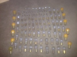 Vintage  (108) GE  Incandescent Lamp Bulb Screw Base - untested - $64.35