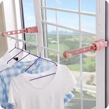Plastic Storage Rack Clothes Hanger Multifunctional Drying Racks Storage... - $29.99