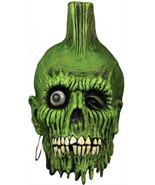 Return of the Living Dead 2 Mohawk Zombie Latex Halloween Mask 061TT49 - £46.68 GBP