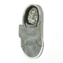 Cat & Jack Gray Lorenzo Toddler Boys Kids Faux Leather Slip-On Summer Shoes NWT image 2