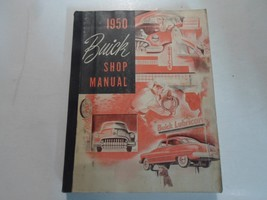1950 Buick ALL SERIES LINES Service Shop Repair Manual WATER DAMAGED MIN... - $42.52