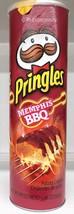 Pringles Memphis BBQ Flavored Potato Crisps 5.9... - $4.24