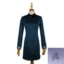Star Trek Discovery Season 2 Science Commander Female Blue Dress w/Badge... - $46.87