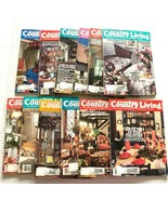 1987 Country Living Magazine Lot of 12 Complete Year Including Christmas - $24.74