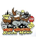 West Virginia Rush Hour Fridge Magnet - $4.25