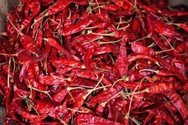 Authentic Indian Spice Dry Red Pepper Whole For Indian Cooking Sookhi La... - $9.49+