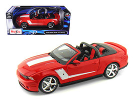 2010 Ford Mustang Convertible 427R Roush Edition Red 1/18 Diecast Model ... - $65.99