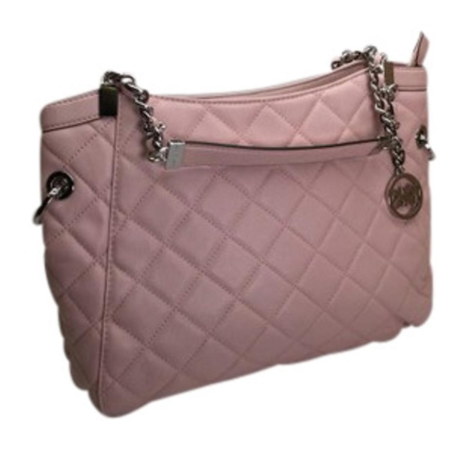 82c63219bfc6 S l1600. S l1600. Previous. Michael Kors Susannah Medium Quilted Leather  Tote / Shoulder Bag NWT
