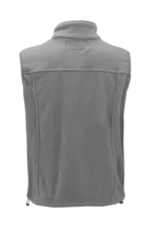 Men's Lightweight Warm Polar Fleece Jacket Full Zip-Up Collared Sweater Vest image 3