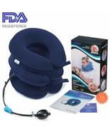 Health Cervical Neck Traction Device - Fda Registered - Inflatable  Adju... - $34.76