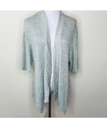 H by Halston Green Heather Open Front Cardigan XS - $39.00