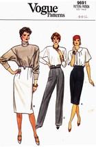 Vogue 9691 Vintage Womans Skirt and Pants Patte... - $10.99