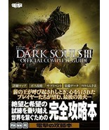 JAPAN Dark Souls III Official Complete Guide - $35.73