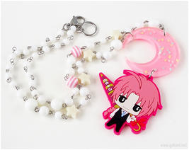 Kamui Chibi Character Necklace, Anime, Gintama - $37.00